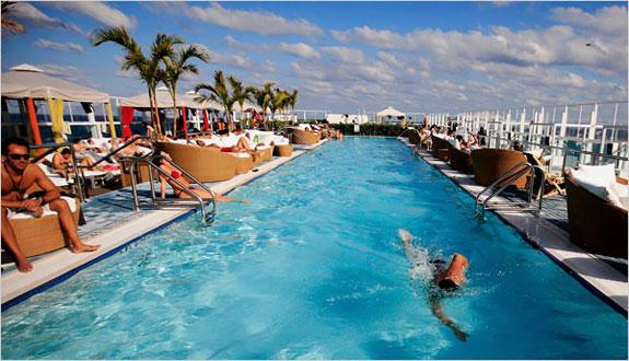 Wet Swimming The Pools Of Miami Alastair Gordon