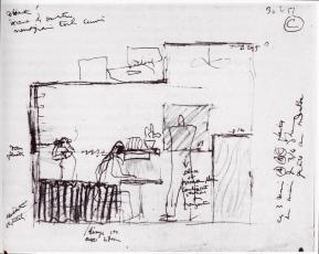 **** Cabanon Sketch. 8, Cap Martin, E-1027. 3