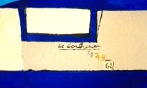******Corb, Mural detail, Cap Martin, by AG. 2