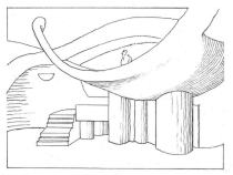 Paolo_Soleri_Amphitheater_Line_Drawing