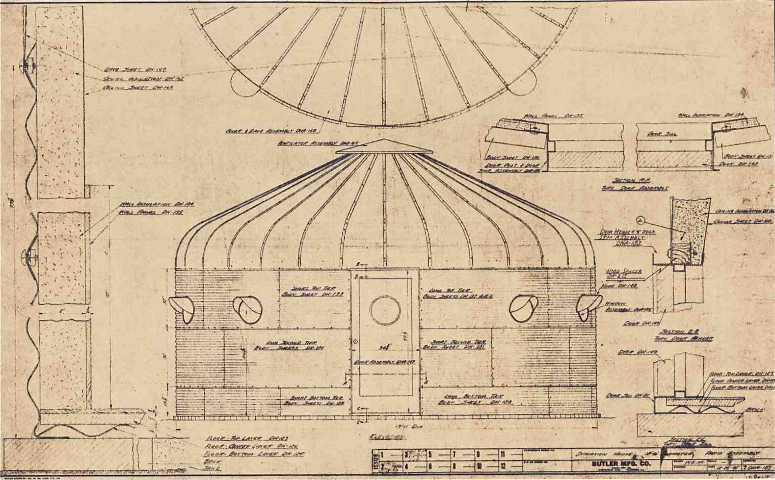 The necessity of ruins the lost dymaxion deployment units for Dymaxion house plans