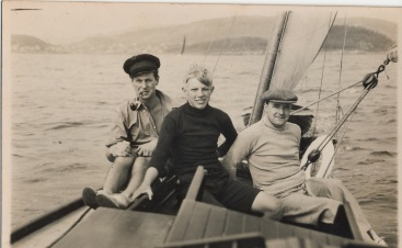 EG sailing, 1939
