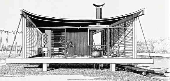 Cocoon House, Siesta Key, 1950