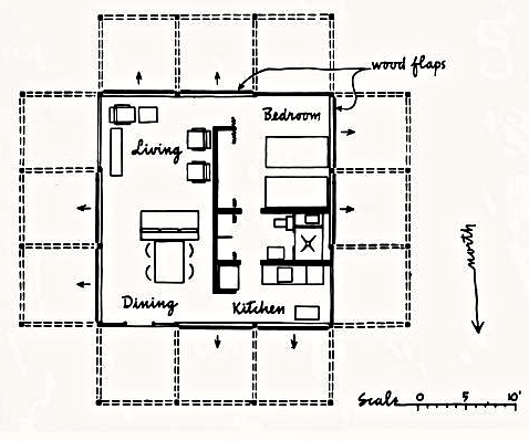 Floor Plan, Walker GH