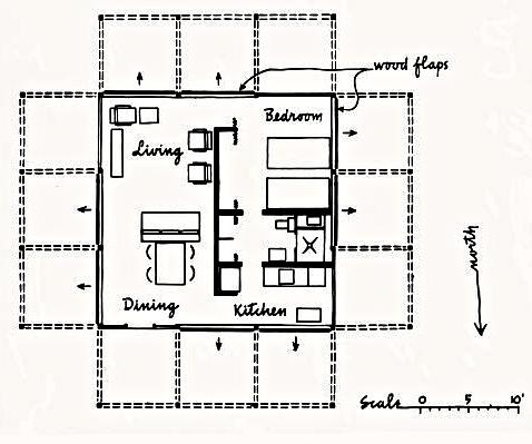 Floor Plan, Walker GH
