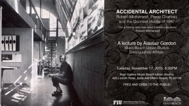 LECTURE FLYER - Alastair-Gordon-Accidental-Architect