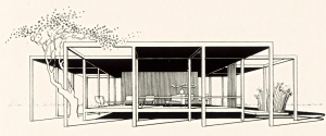 Walker Guest House - drawing - archival 2