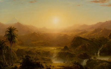 %22The Andes of Ecuador%22 Frederic Edwin Church, 1855