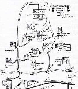 Site Plan Camp Biscayne (GROVE)