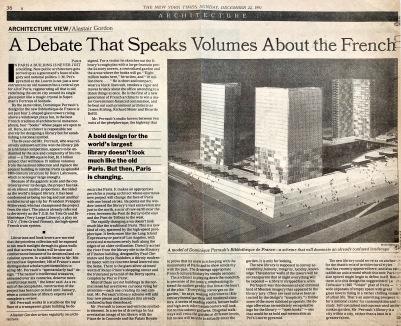A Debate that Speaks Volumes, NYT, Dec. 22, 1991