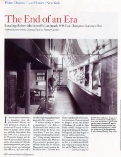 Architectural Digest, October 2007, pg.1 copy 2