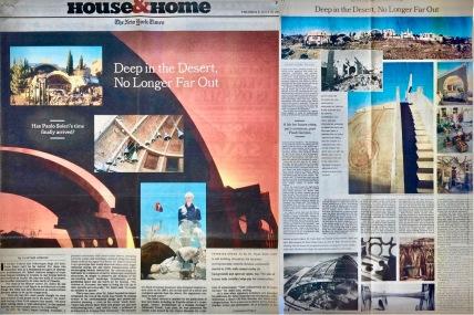 Deep in the Desert (Soleri), NYT