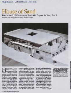 House of Sand (AD)