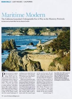 Maritime Modern, Mark Mills, (Oct. 2009, AD)
