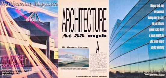 Architecture at 55 MPH, Newsday, 1991