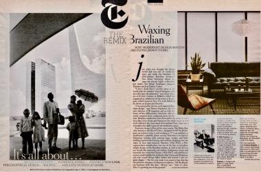 Brazilian Modern, NYT Mag. 2