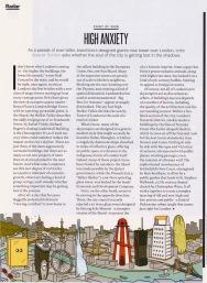 High Anxiety (London), Travel & Leisure