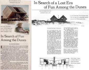 In Search of Fun Among the Dunes (A. Geller), NYT 2