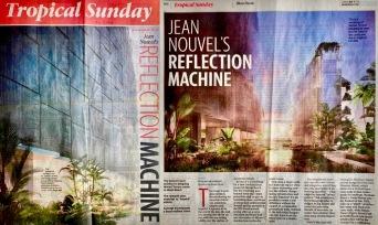 Jean Novel's Reflection Machine, Miami Herald 2