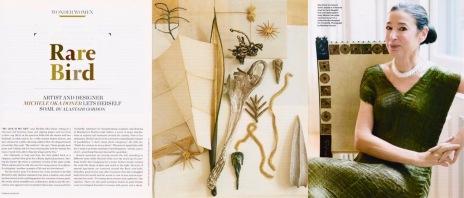 Rare Bird (Michele Oka Doner), T&C 2