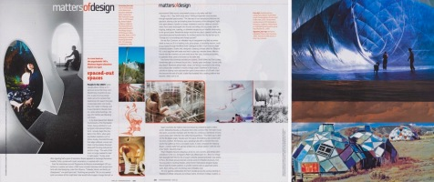 Spaced-Out Spaces, Int. Design, April 2008 2