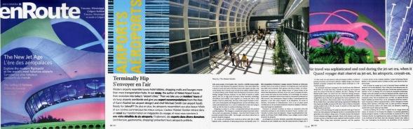 Terminally Hip - Airport Design, En Route, May 2005