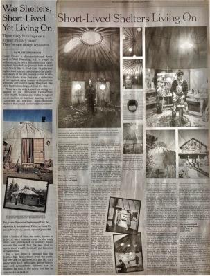 War Shelters, Short Lived (Bucky DDU's) 2